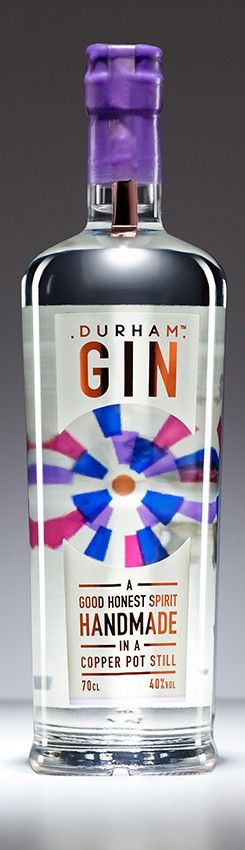 Durham Gin. 40 % ABV. Contemporary. Exact recipe is a secret. 10 botanicals including pink peppercorns. Advised by the botanical garden of Durham uninversity. Nose : soft and slightly floral with a mix of Juniper, Elderflower and Pink Peppercorns. Palate : mix of traditional flavours like Orris and Angelica, with some hints of Cardamom. There are citrus notes which come from Orange and Lemon peel as well as from Coriander seeds.