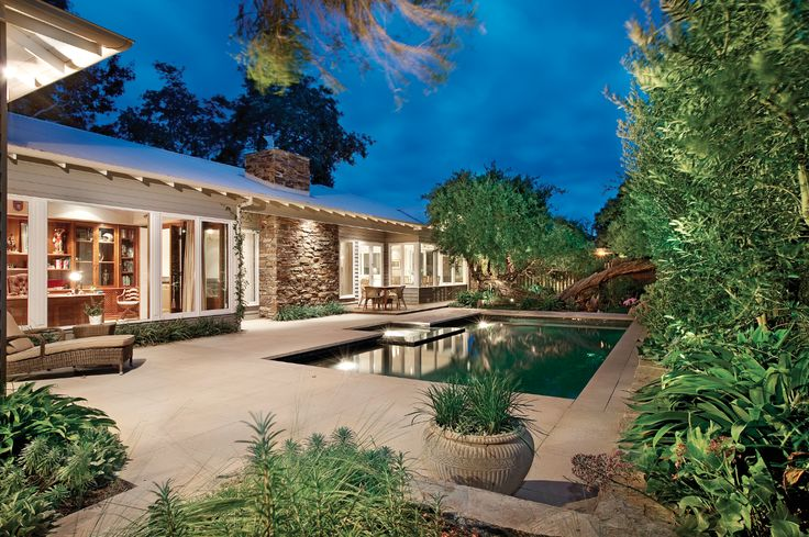 Pool design, garden, paving, entertaining area, Constructed by Classic Projects