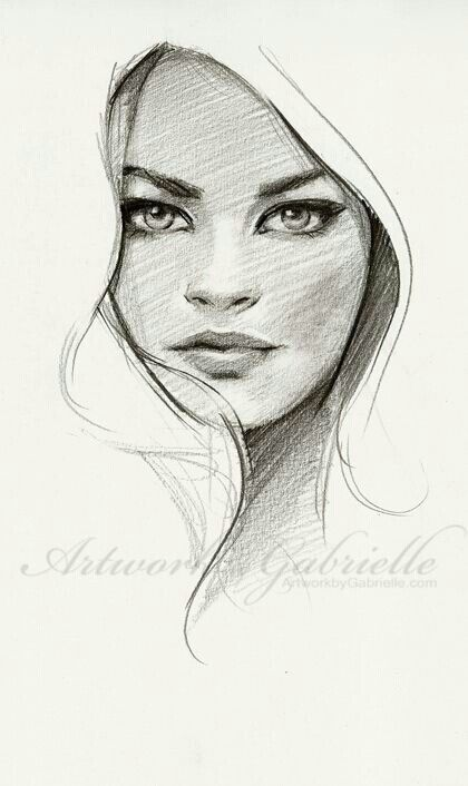 Artwork by Gabrielle, 25 min sketch from ref :) Just wanted to draw on