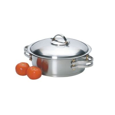 Ovenprufe pots let you cook in the oven or on thse stovetop. http://nmcexquisite.com/cookware/ovenprufe