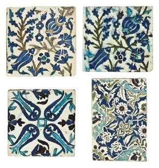 Very very old and expensive tile from Damascus - Maybe I can recreate the botanical patterns?