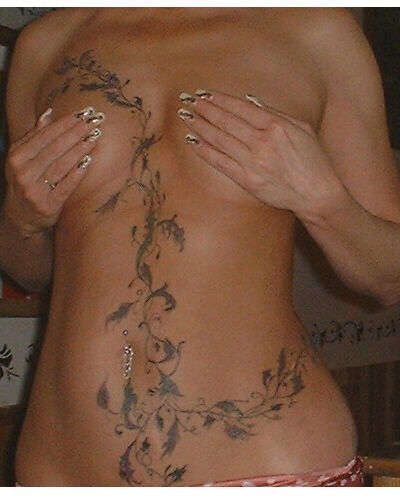 stomach tattoos to cover scars   Scar cover