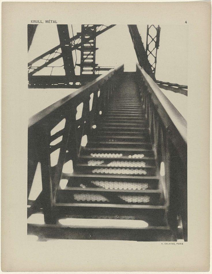 M�tal (De Hef, Rotterdam) (pl. 4), Germaine Krull, A. Calavas, 1925 - 1926