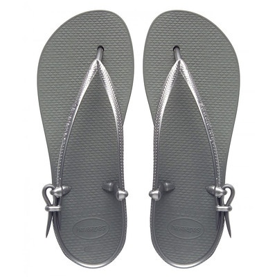 Sandálias Havaianas Fit Silver