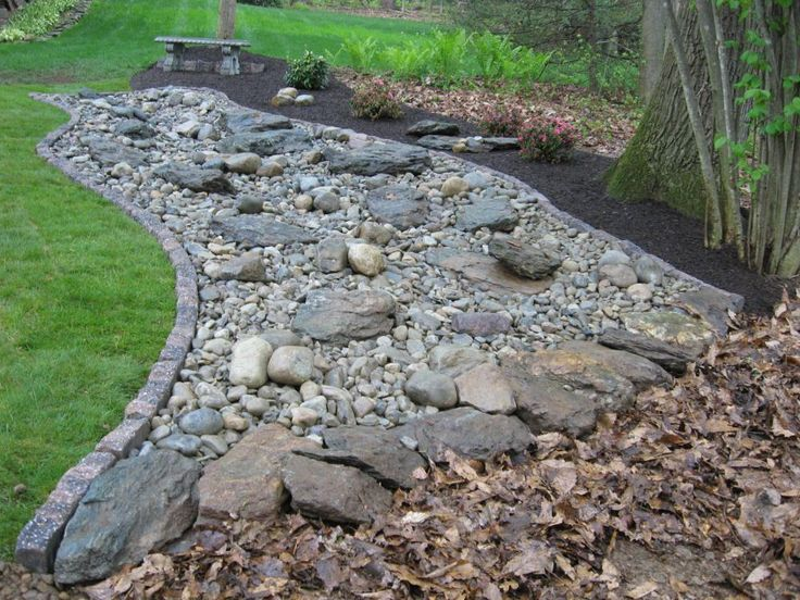 dry river bed landscaping pictures decorative landscape design hardscaping and plant installation with rock garden