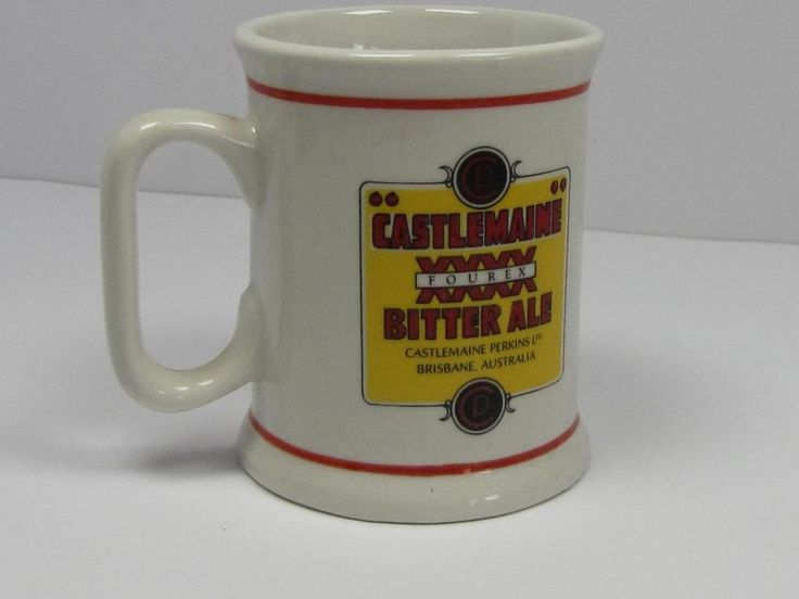 COLLECTIBLE: Australian Breweries CASTLEMAINE XXXX BITER ALE TANKARD