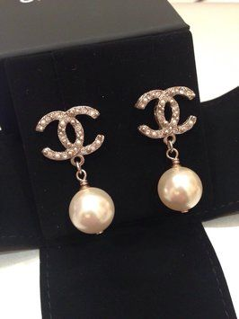 Authentic Chanel Pearl Earrings . Get the lowest price on Authentic Chanel Pearl Earrings  and other fabulous designer clothing and accessories! Shop Tradesy now