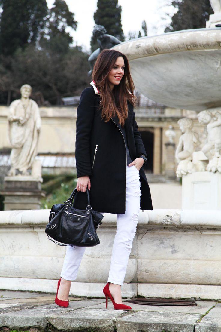 #fashion #fashionista @Irene Colzi Bianco in inverno