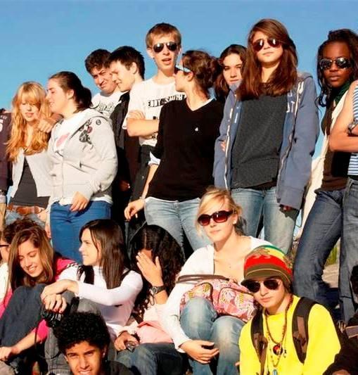 Estudiantes de inglés en Ciudad del Cabo