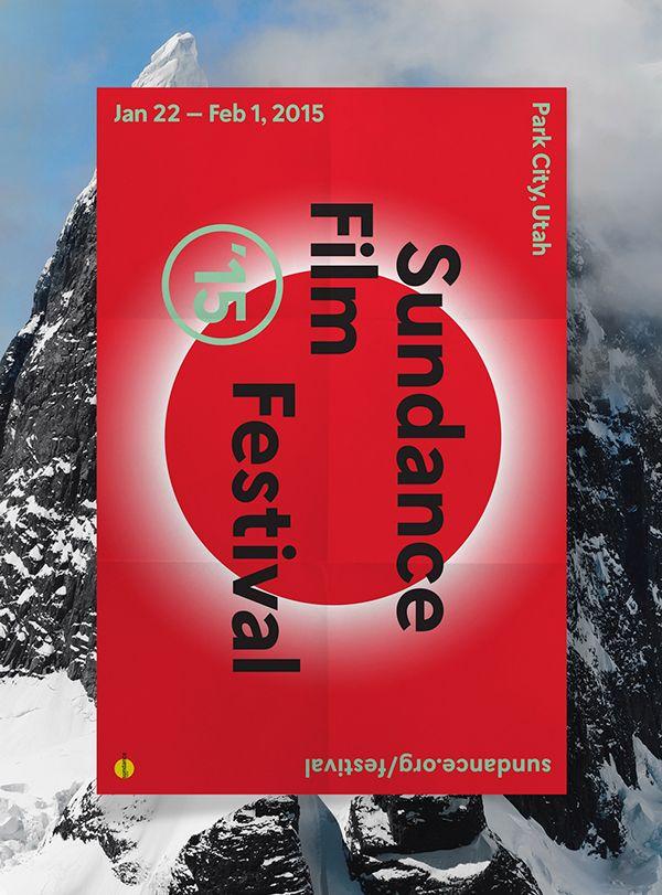 2015 Sundance Film Festival on Behance