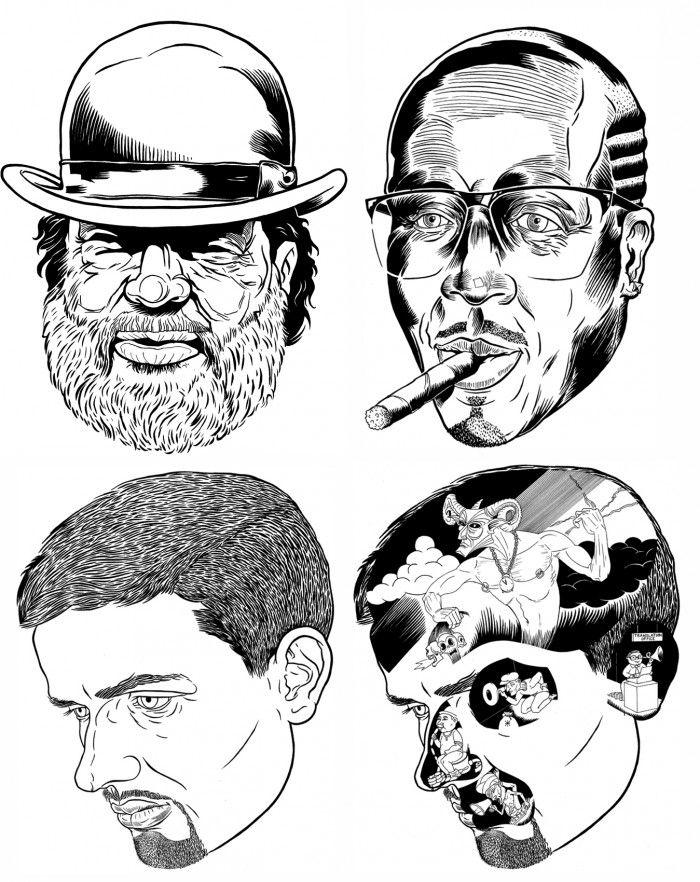 illustration by BEUGISM, illustrator represented by OWL Illustration agency www.owlillustration.com