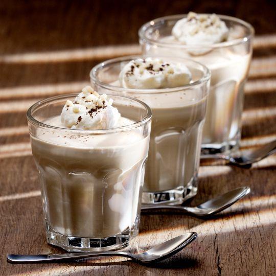 Cappuccino-Quarkspeise