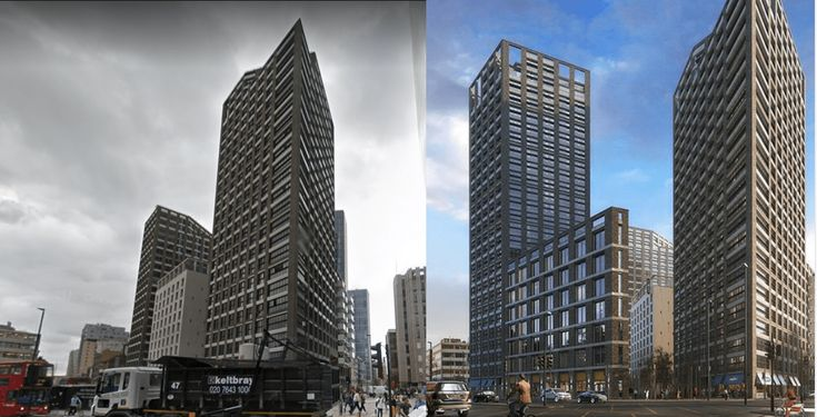 Barratt London shelves 27-storey Aldgate tower project