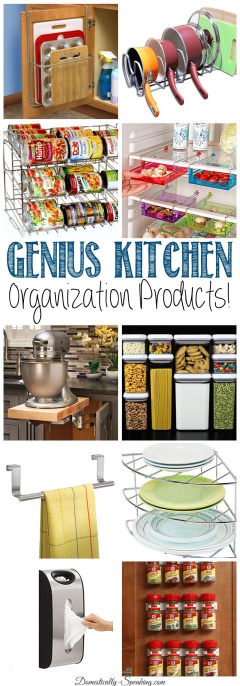 Genius kitchen organization products rangement rangement cuisine et id e cuisine - Rangement cuisine organisation ...