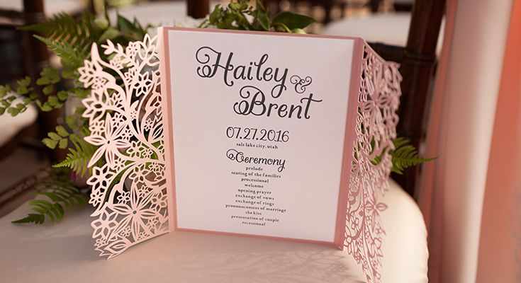 From invitations to decorations, create the wedding you've always pictured with Cricut.