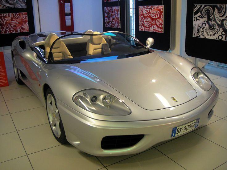 #Ferrari 360 #Barchetta at the Ferrari Museum in Maranello.