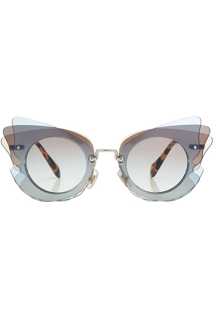 Miu Miu - Butterfly Sunglasses | STYLEBOP