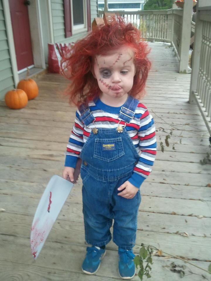 Chucky toddler costume