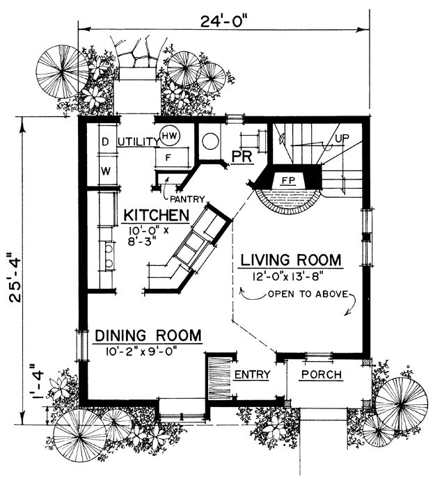 260 Best Cottage: Floor-Plan (Sm) Images On Pinterest | Small Home
