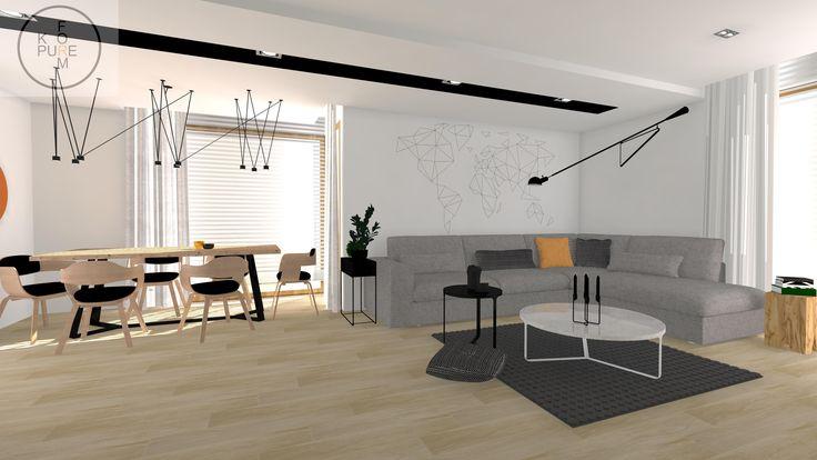 modern livingroom http://www.kppureform.pl
