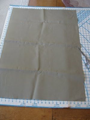 How To Make A Canvas Log Carrier - An Oregon Cottage | An Oregon Cottage