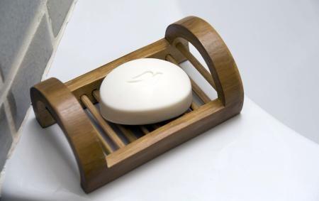 Home Design World: Bamboo Soap Dish