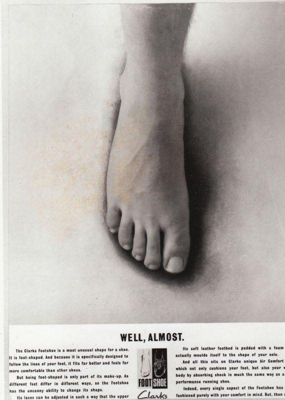 Clark's foot model