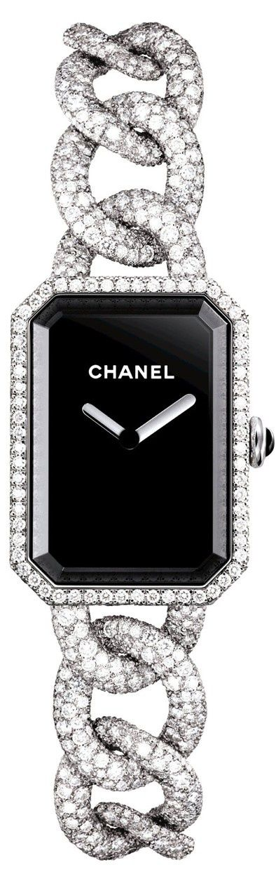 Chanel Ladies Watch Diamonds and Gold #LadiesWatches #ChanelJewelry #WomensFashion
