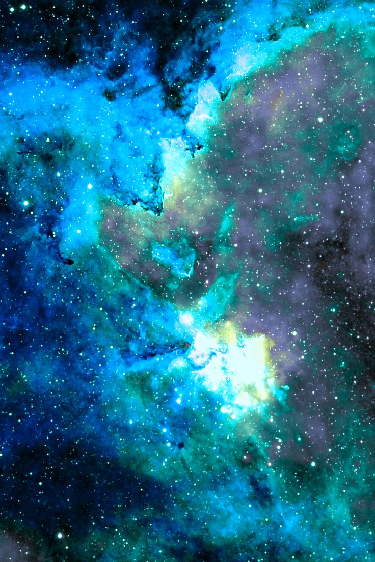 Cool color nebulae