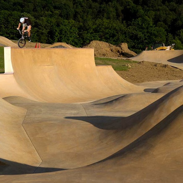 California Skateparks' Snake Run - A return to skateboarding's roots through innovative design and construction at Camp Woodward