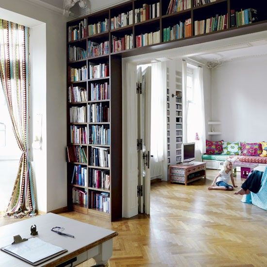 Living room storage | Technicolour Cologne apartment tour | Livingetc