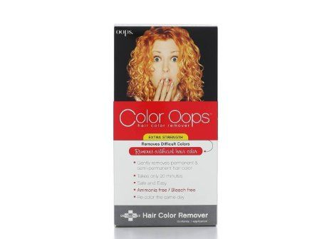 Color Oops The Best Way To Remove Permanent Or Demi