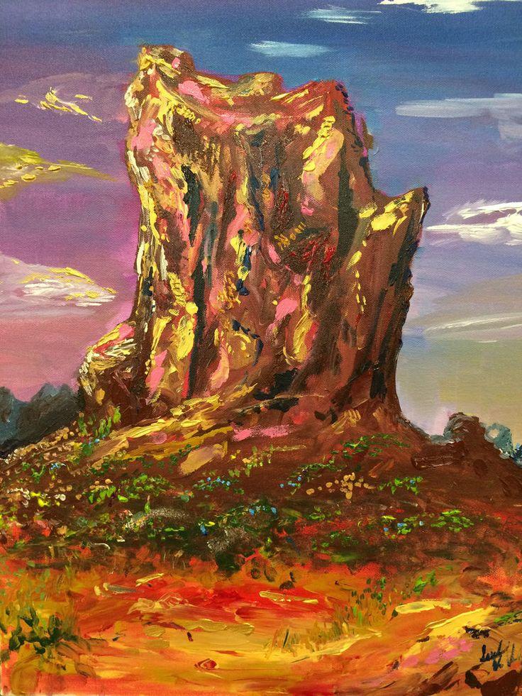 Desert Monolith by Celerybandit on DeviantArt