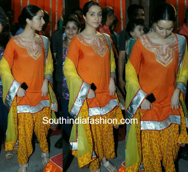 Shraddha Kapoor in a simple patiala suit