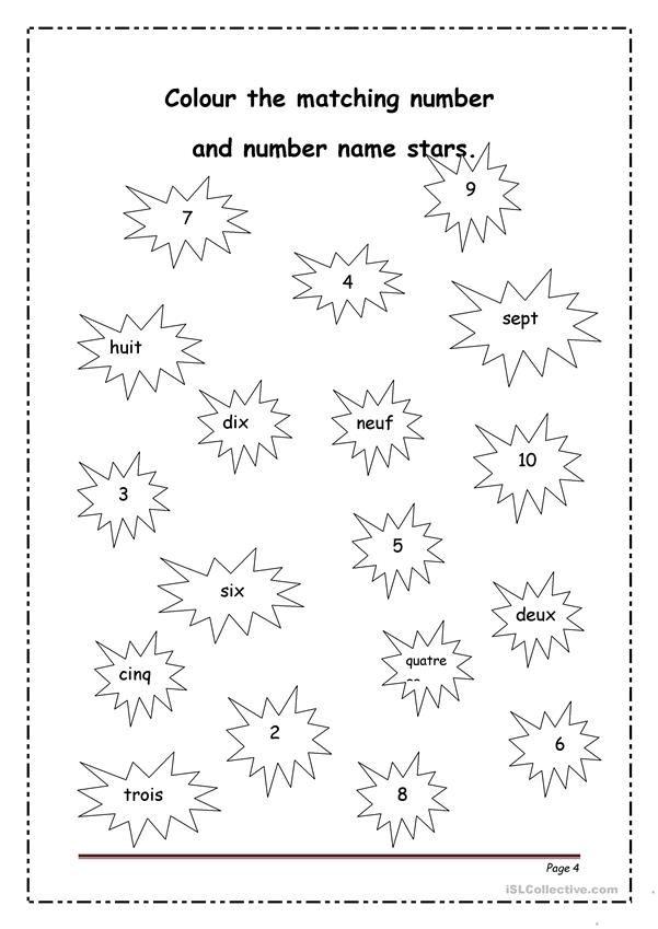 les nombres 1 20 kindergarten worksheets french worksheets kindergarten worksheets worksheets. Black Bedroom Furniture Sets. Home Design Ideas