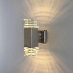 Wandleuchte für Außen 434B LED