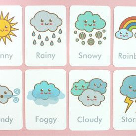Free Printable: Vegetable Flash Cards and Matching Cards