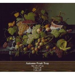 Autumn Fruit Tray