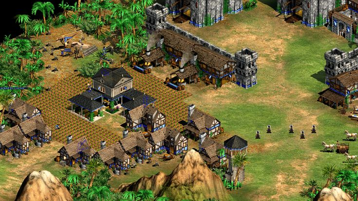 Age of Empires 2 (Age of Empires II) HD isometric gameplay