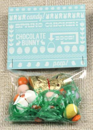 Little Easter Gift Bag these are super cute and great for your kids to give out to there friends