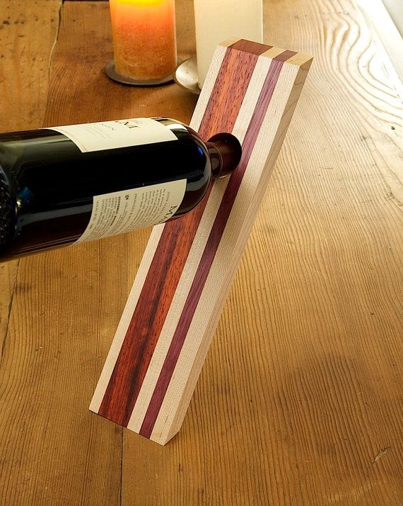 100 best wine bottle holders images on pinterest wood woodwork and wines - Wine bottle balancer plans ...