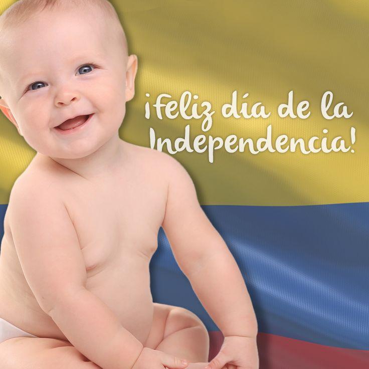 ¡Feliz día de la independencia! #Colombia