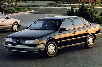 1989 Ford Taurus (Until someone blew it up in my front yard with a sparkler)