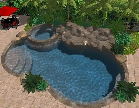 What is Pool Studio Fully Rendered 3D Swimming Pools and Spas