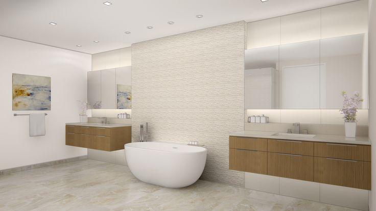 Future Highland Beach Condo Project-Master Bathroom Color Scheme A