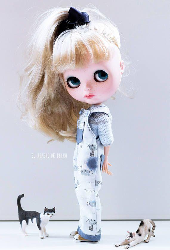 Kombinézy a Sweater pro Blythe panenka svetr pro Blythe panenky