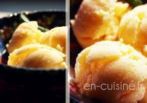 Recette crème glacée au caramel au beurre salé au Thermomix | En Cuisine !