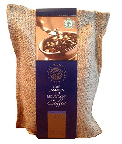Cafe Blue 100 Jamaica Blue Mountain Coffee Beans 8oz >>> Read more  at the image link.