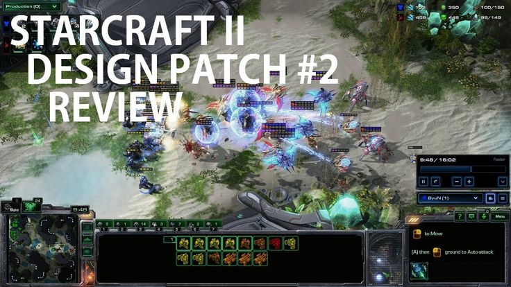StarCraft II Design Patch #2 Review by brownbear