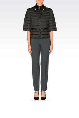 Giubbotti donna Emporio Armani, giacche di marca e alla moda - Armani.com